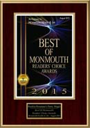 Monmouth Best of 2015 Award